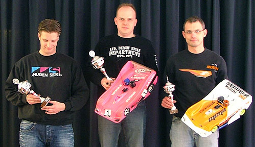 Podium at Amca