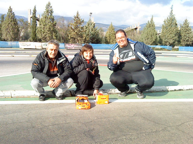 Merlin Fuel at Arena Track - Athens