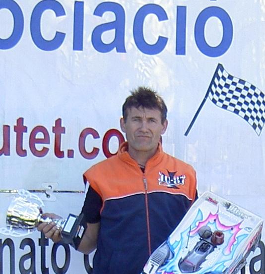 Vicente podium
